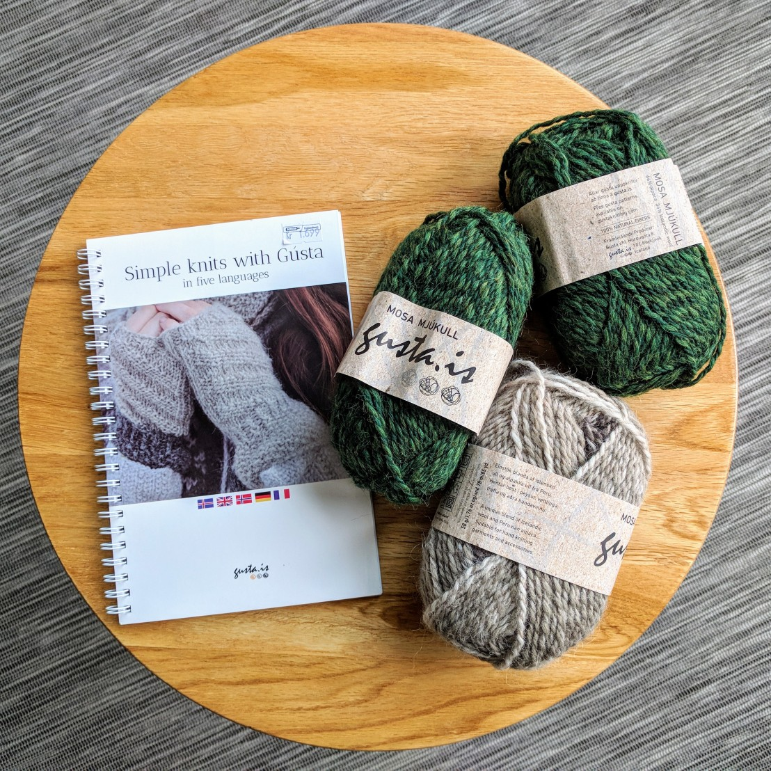 Icelandic patterns and wool